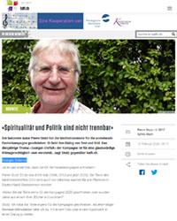 Pierre Stutz Interview kath.ch