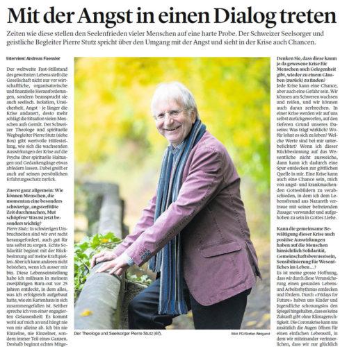 Pierre Stutz Luzerner Zeitung