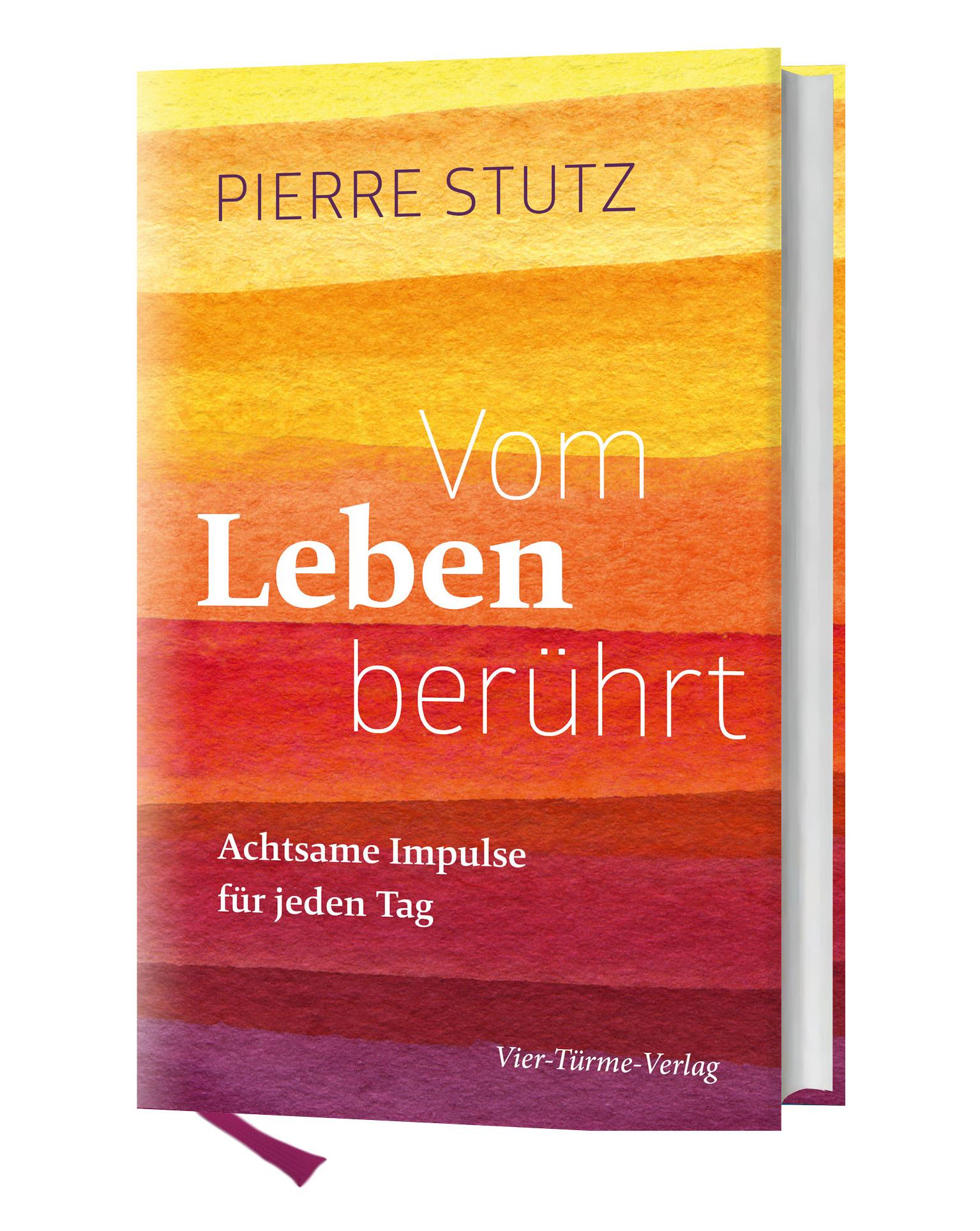 Vom Leben berührt - Cover - Pierre Stutz